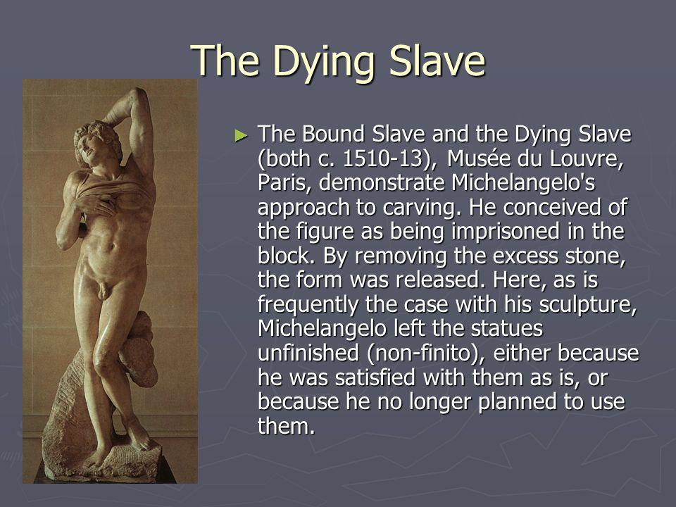 The Dying Slave