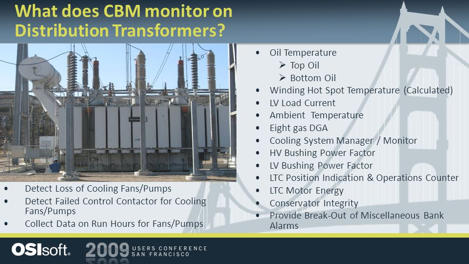 What does CBM monitor on Distribution Transformers