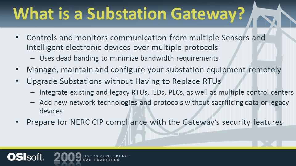 What is a Substation Gateway