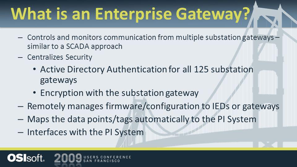 What is an Enterprise Gateway