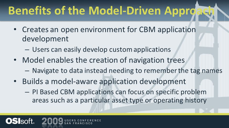 Benefits of the Model-Driven Approach