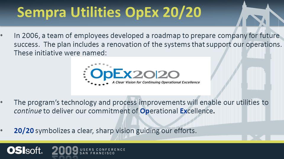 Sempra Utilities OpEx 20/20