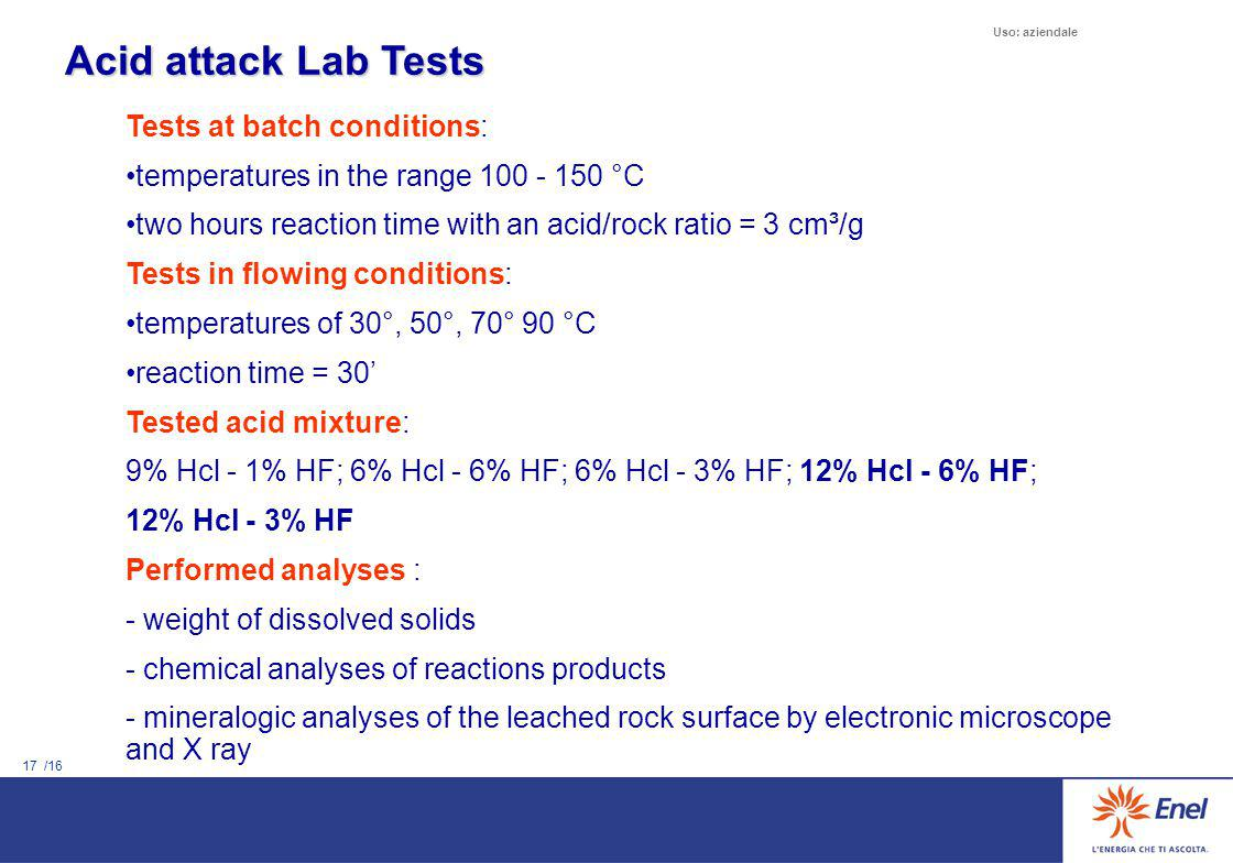 Equipment for Lab tests