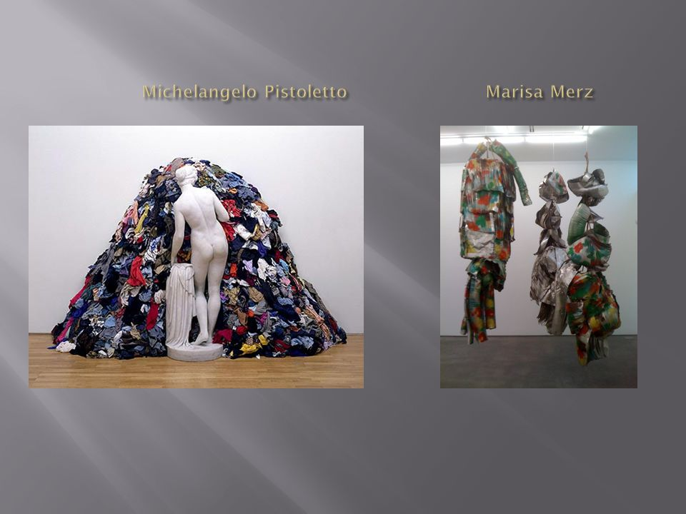 Michelangelo Pistoletto Marisa Merz