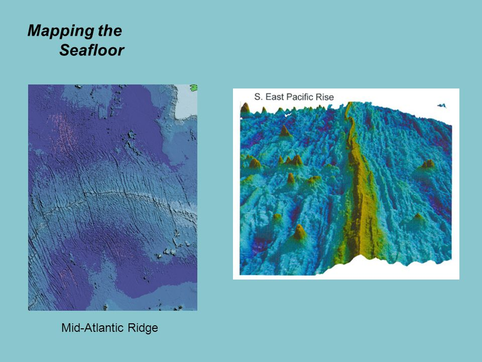 Mapping the Seafloor Mid-Atlantic Ridge