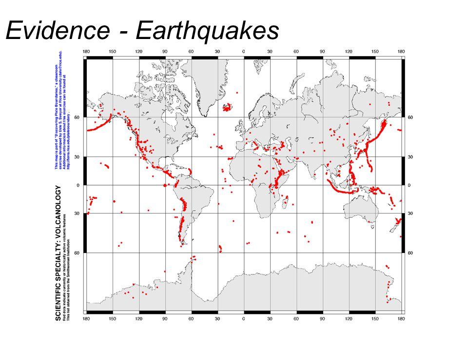 Evidence - Earthquakes