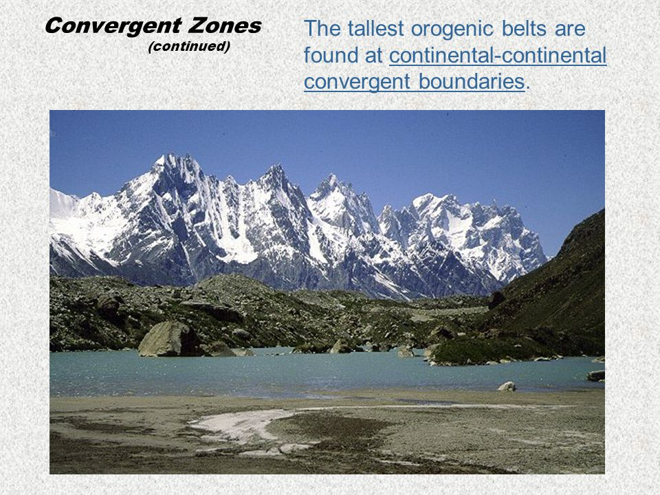Convergent Zones (continued)