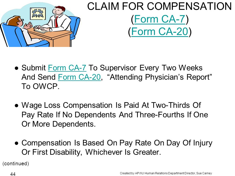 FEDERAL INJURY COMPENSATION OVERVIEW How Does the Process Work ...