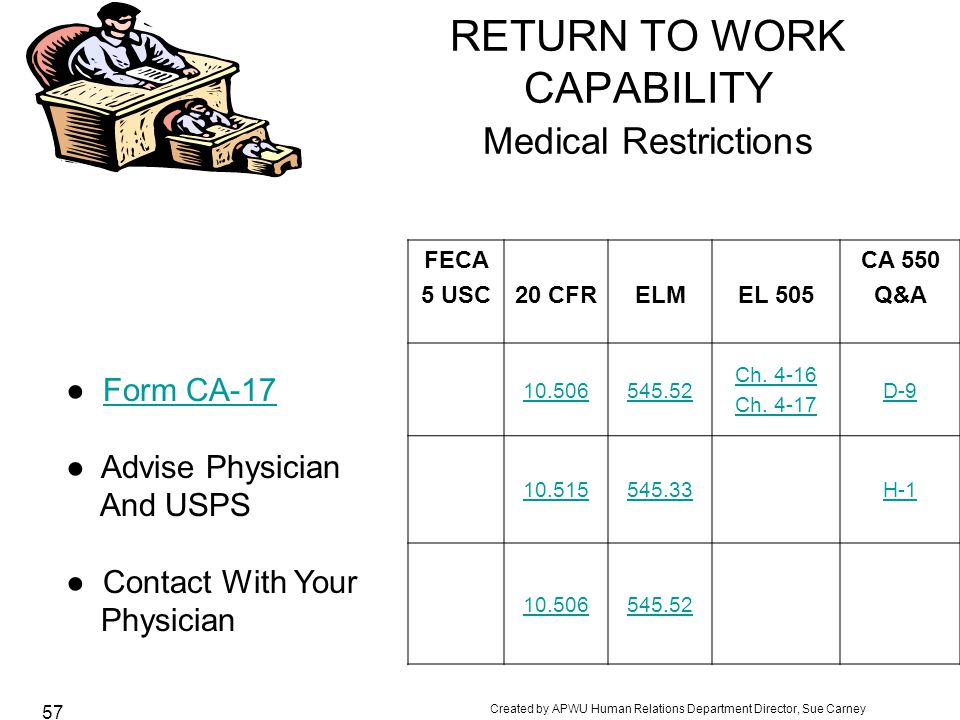 Federal Injury Compensation Overview How Does The Process Work  Ppt
