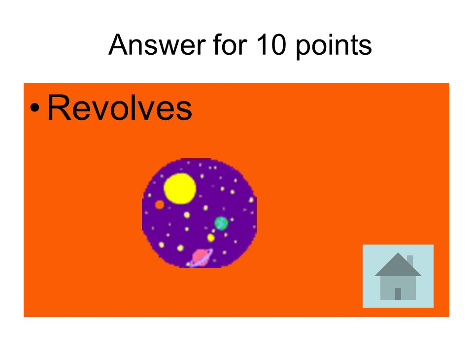 Answer for 10 points Revolves