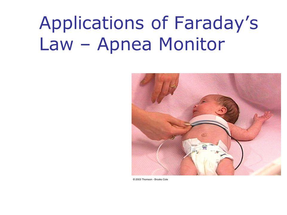 Applications of Faraday's Law – Apnea Monitor