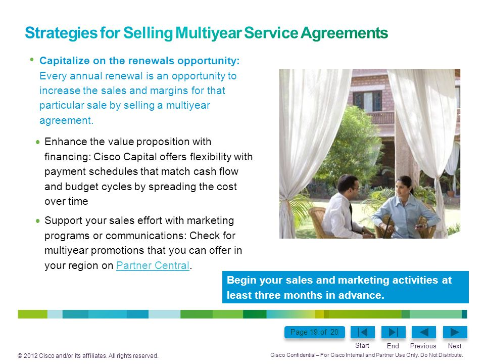 Strategies for Selling Multiyear Service Agreements