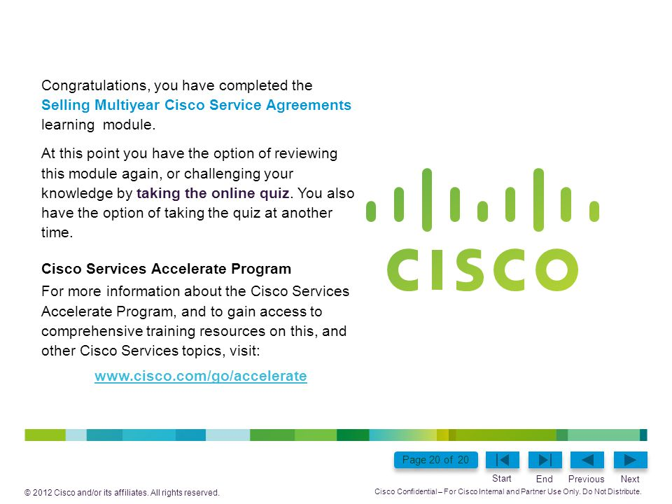 Cisco Services Accelerate Program