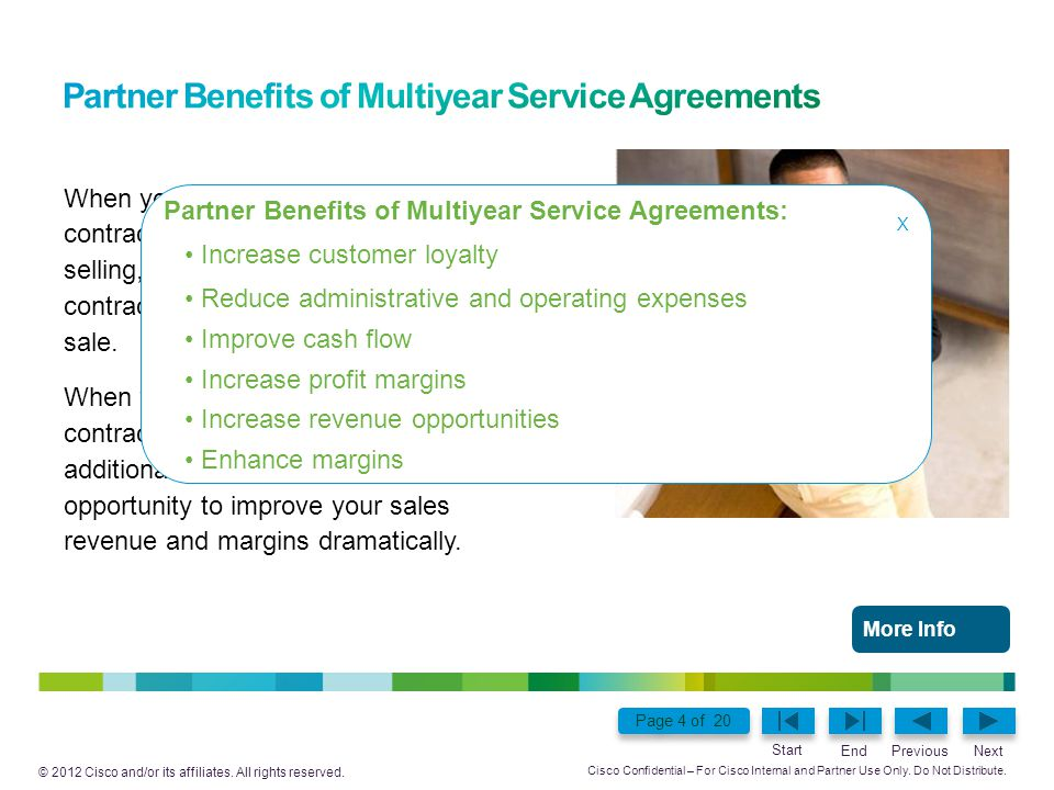 Partner Benefits of Multiyear Service Agreements