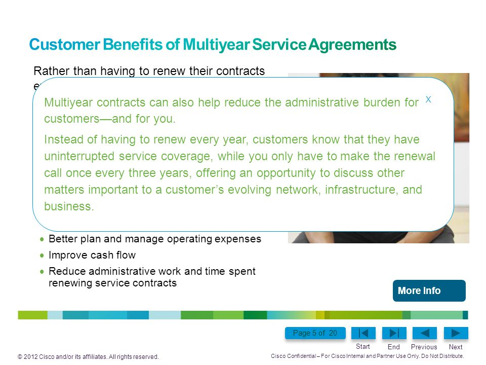 Customer Benefits of Multiyear Service Agreements