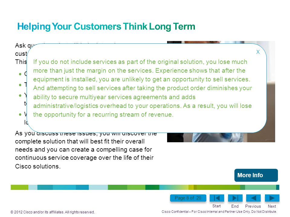 Helping Your Customers Think Long Term