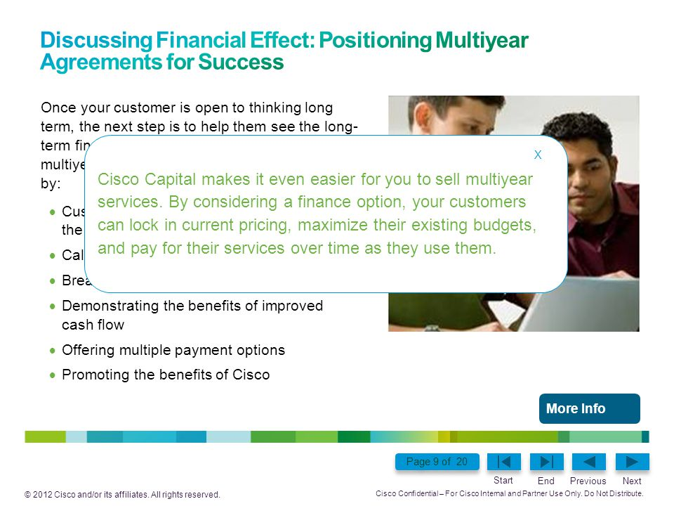 Discussing Financial Effect: Positioning Multiyear Agreements for Success