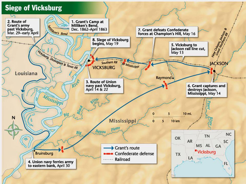 Vicksburg/Gettysburg