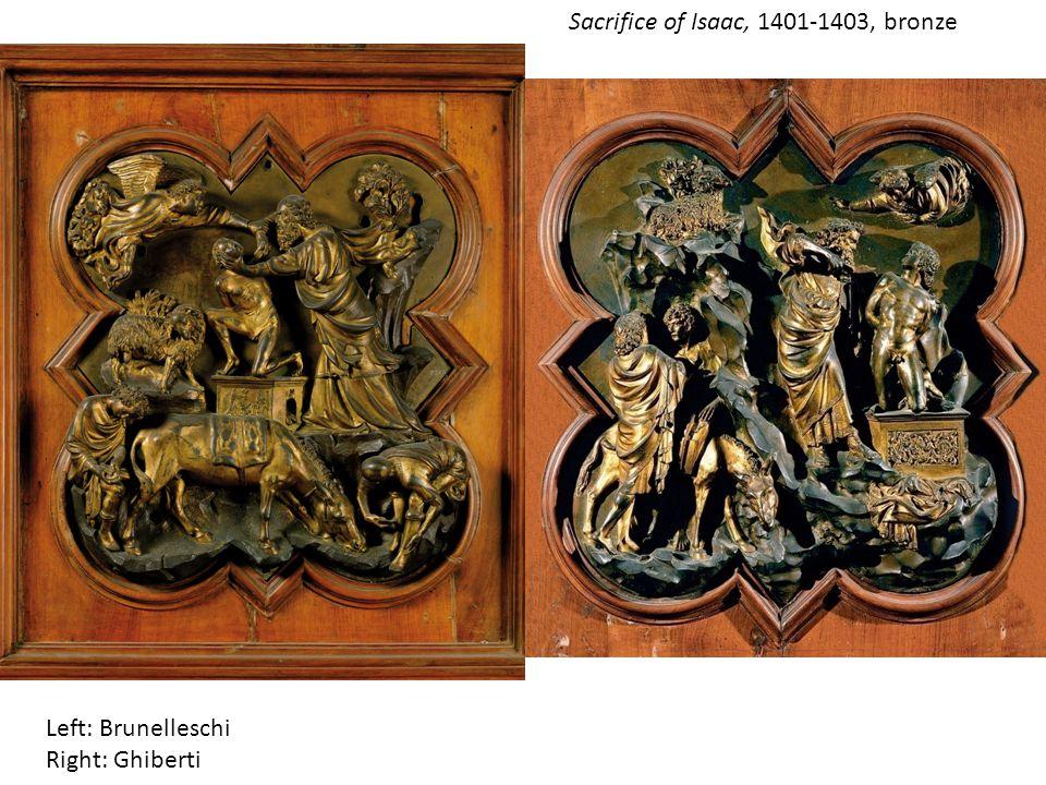 Sacrifice of Isaac, 1401-1403, bronze
