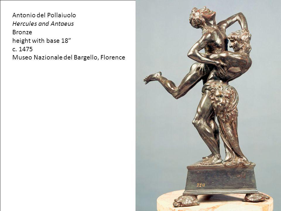 Antonio del Pollaiuolo Hercules and Antaeus Bronze