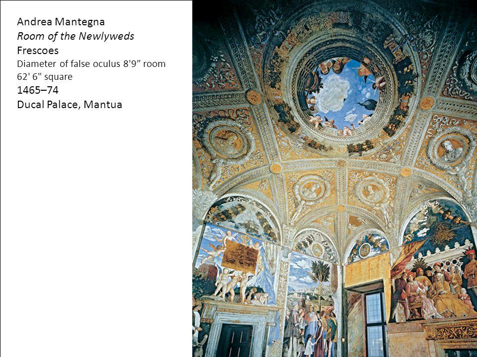 Andrea Mantegna Room of the Newlyweds Frescoes 1465–74