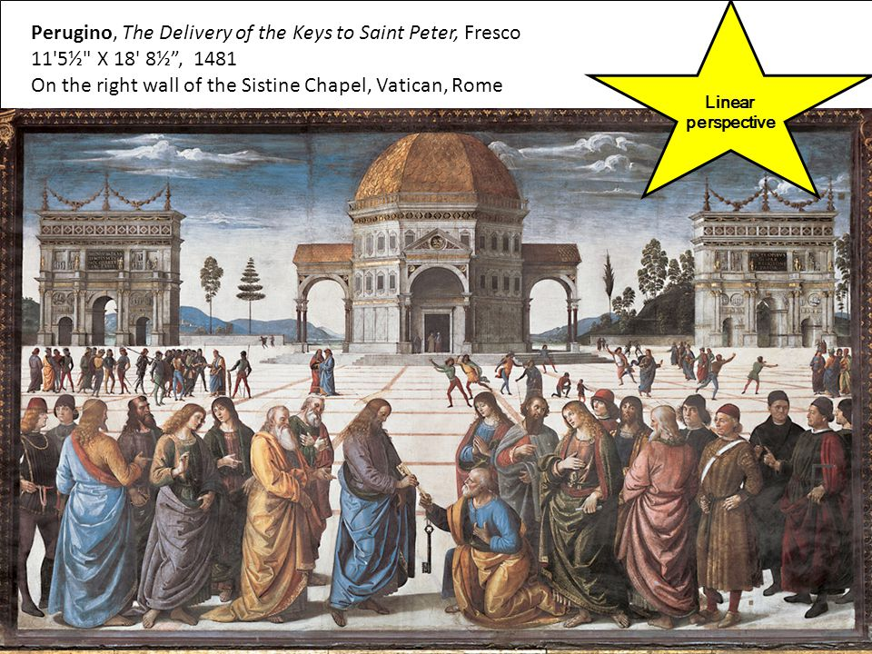 Perugino, The Delivery of the Keys to Saint Peter, Fresco