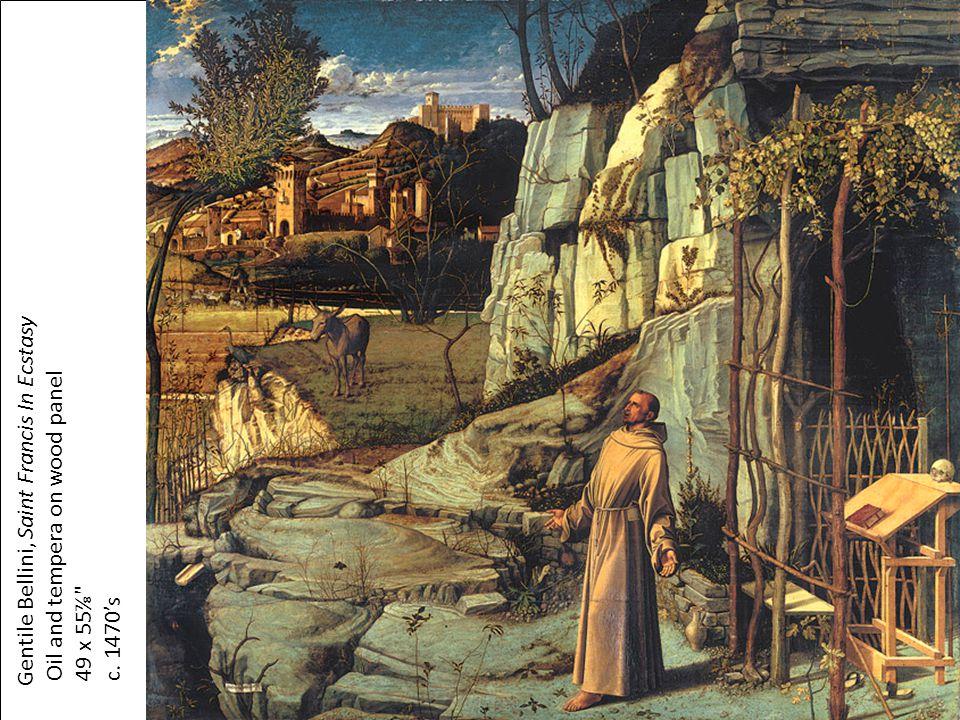 Gentile Bellini, Saint Francis In Ecstasy