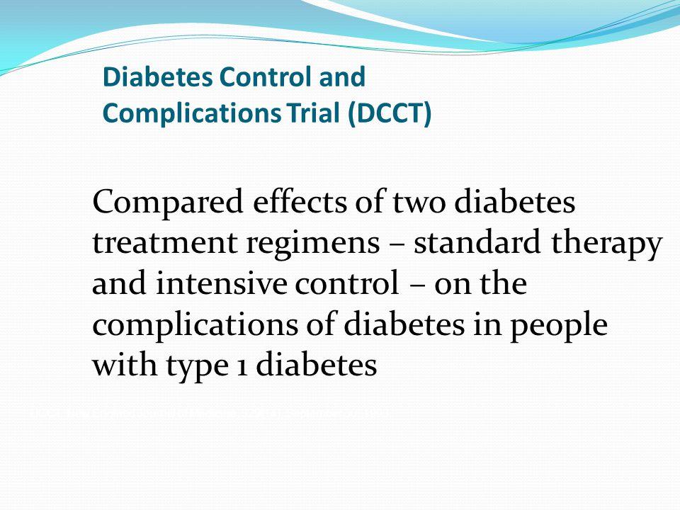 Diabetes Control and Complications Trial (DCCT)