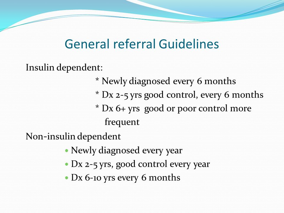 General referral Guidelines