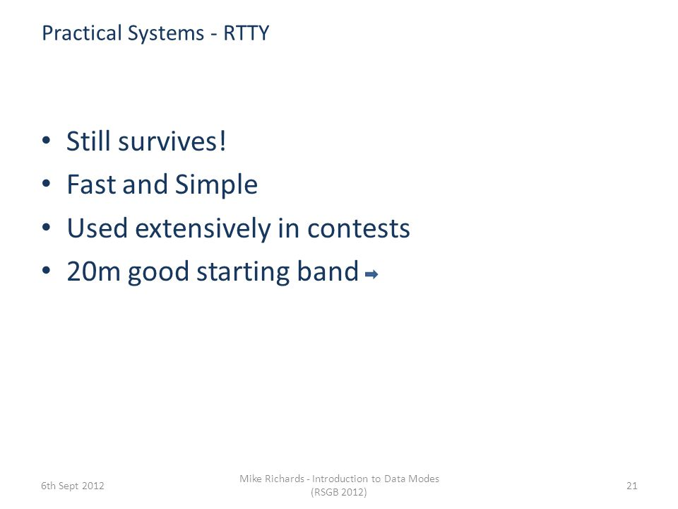 Practical Systems - RTTY