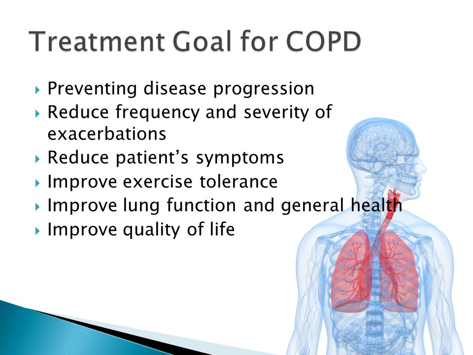 Treatment Goal for COPD