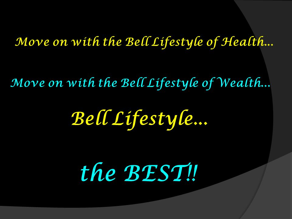 the BEST!! Bell Lifestyle...