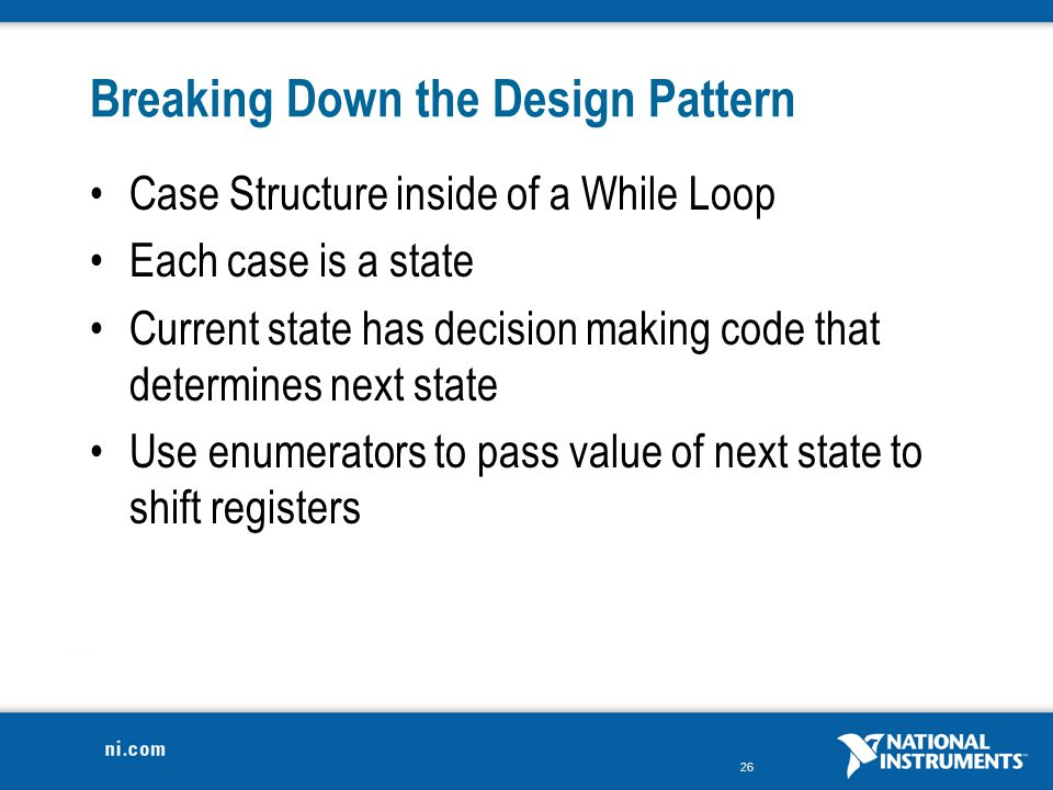 Breaking Down the Design Pattern