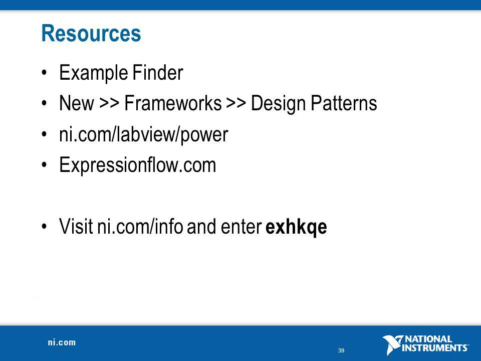Resources Example Finder