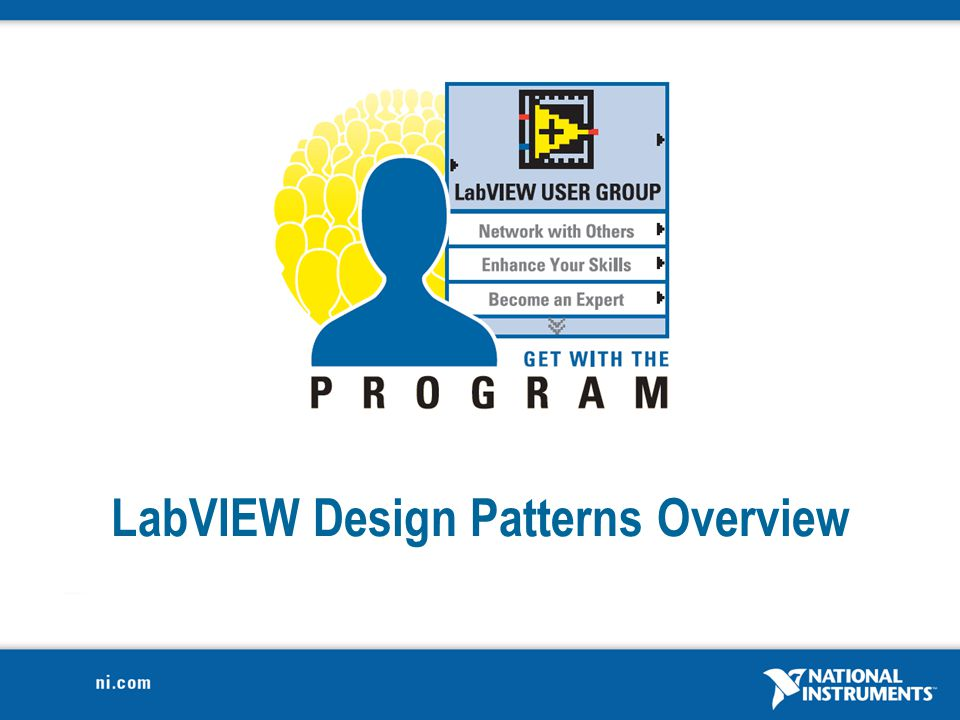 LabVIEW Design Patterns Overview