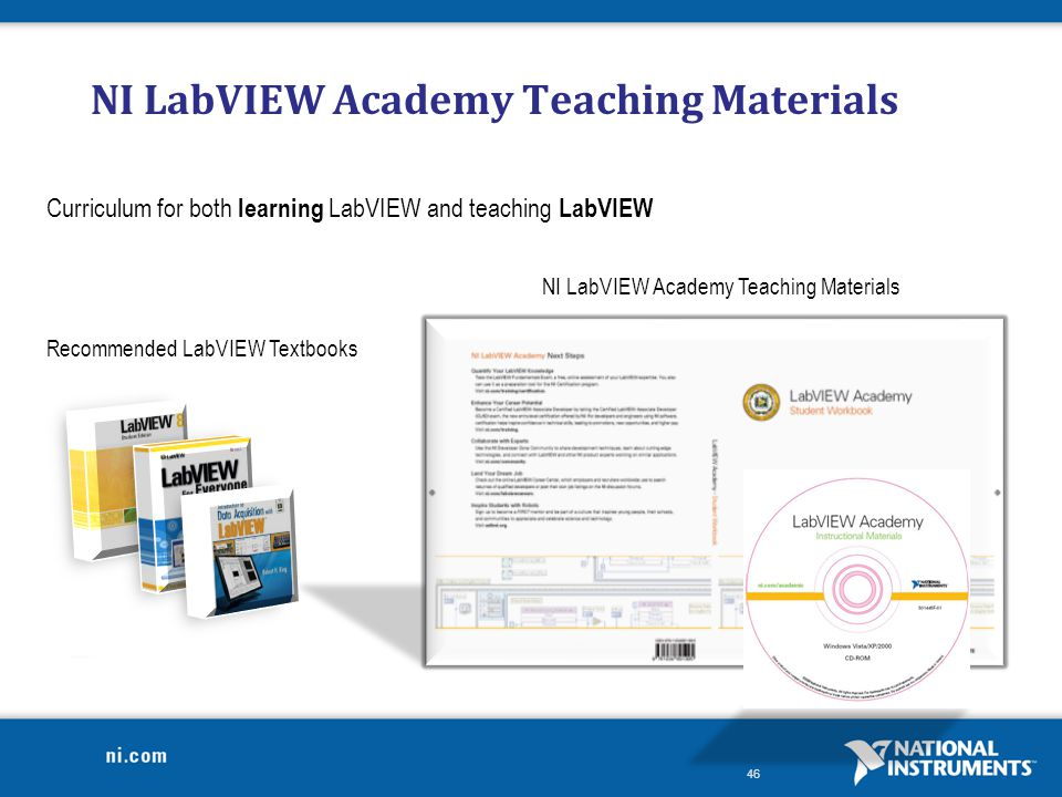 NI LabVIEW Academy Teaching Materials