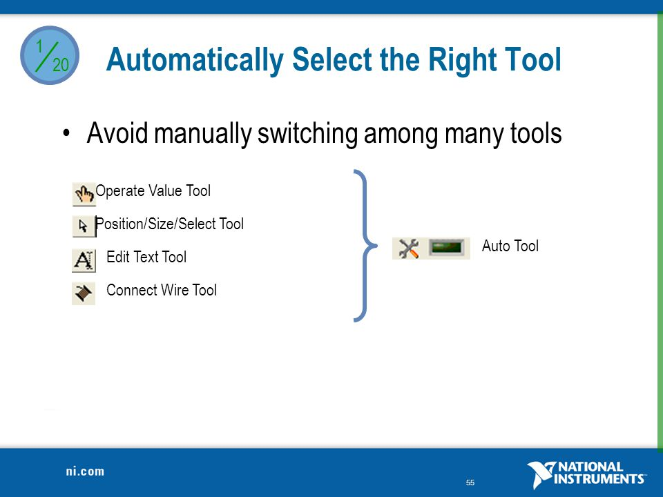Automatically Select the Right Tool