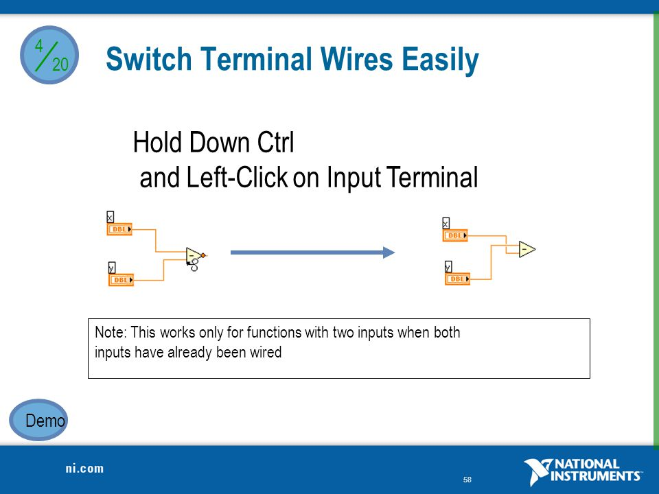 Switch Terminal Wires Easily
