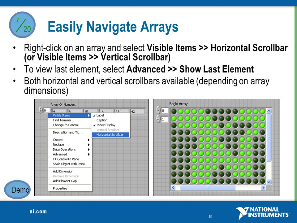 Easily Navigate Arrays
