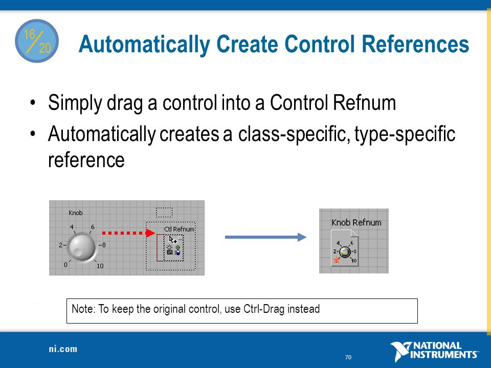 Automatically Create Control References