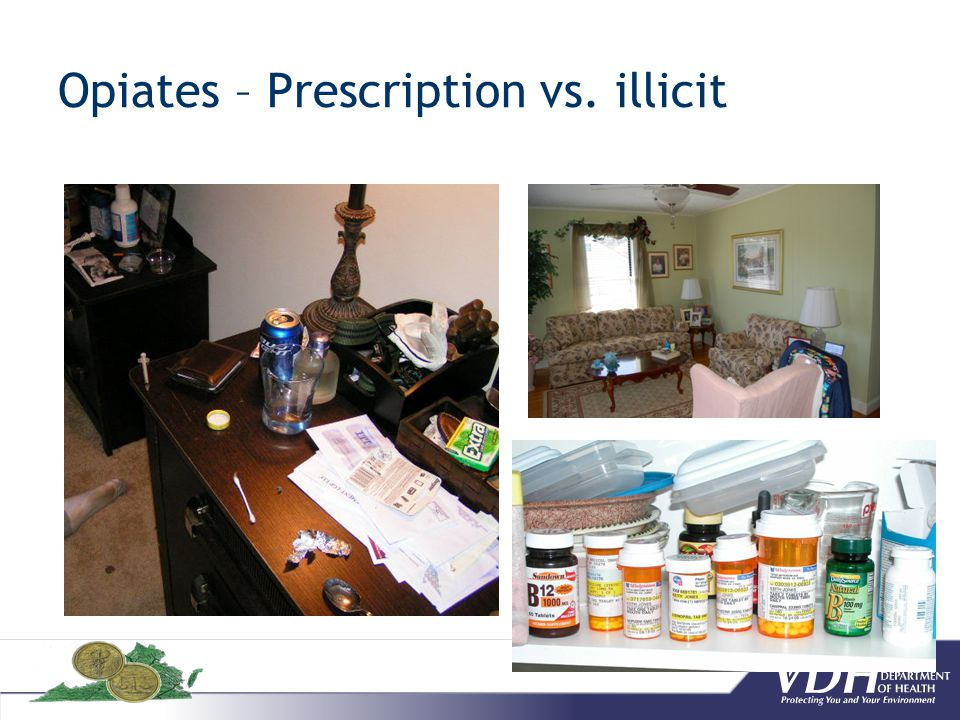 Opiates – Prescription vs. illicit