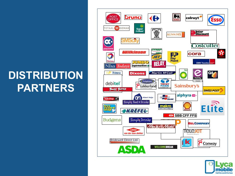 DISTRIBUTION PARTNERS