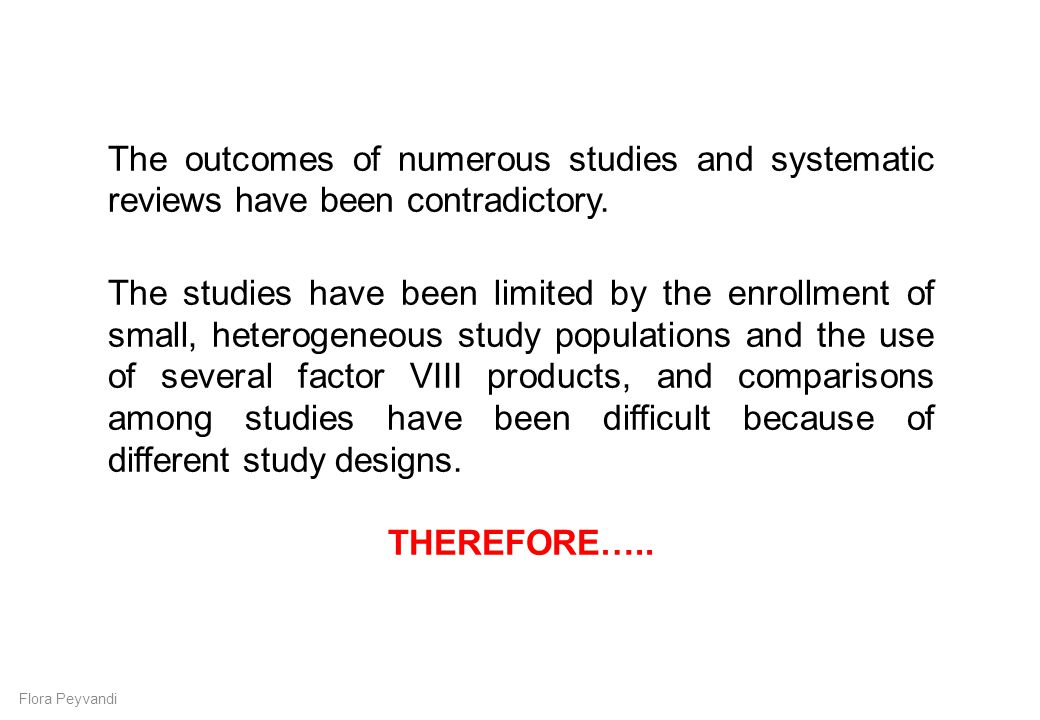 The outcomes of numerous studies and systematic reviews have been contradictory.