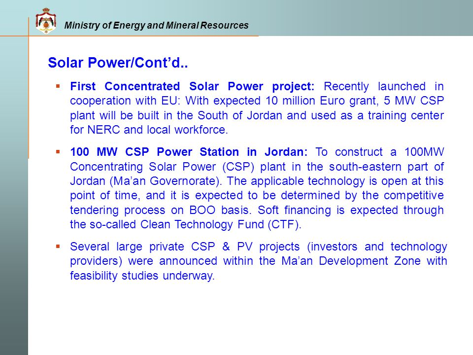 Solar Power/Cont'd..