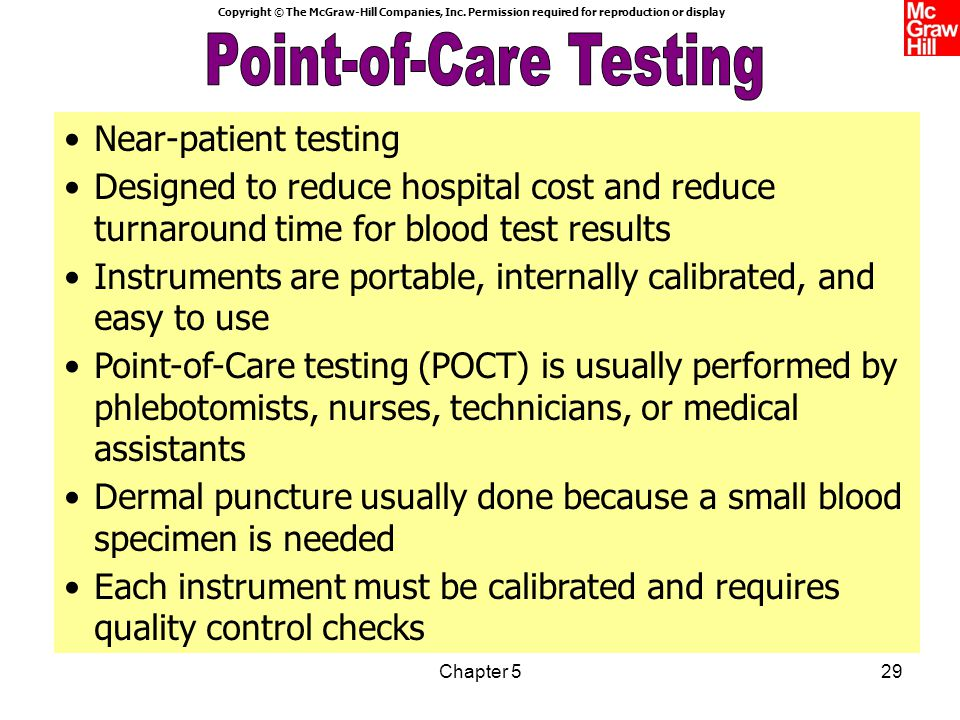 Point-of-Care Testing