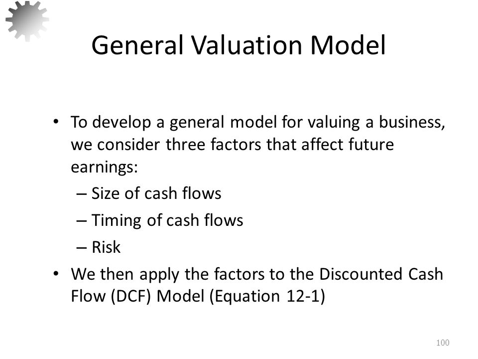 General Valuation Model