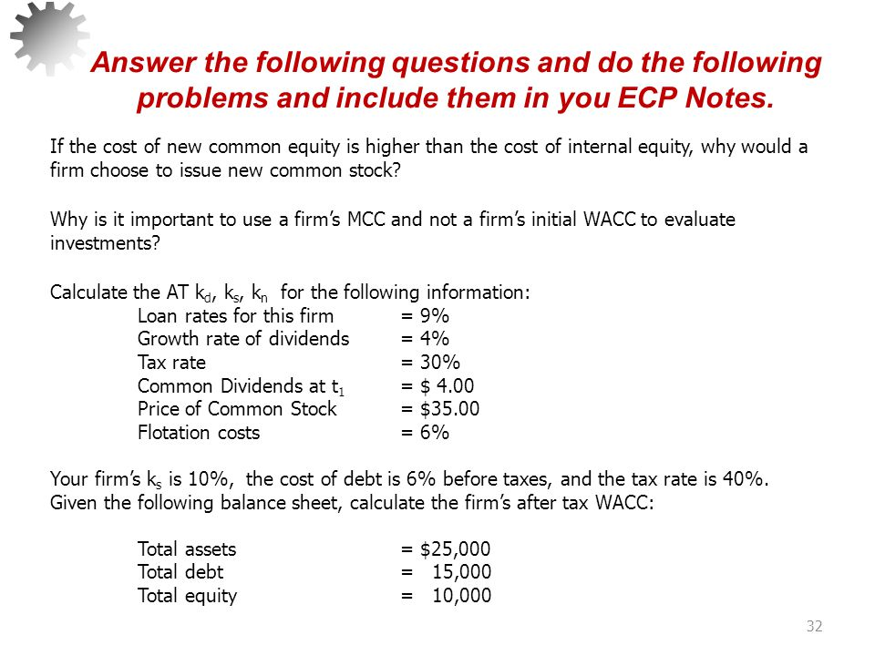 Answer the following questions and do the following problems and include them in you ECP Notes.