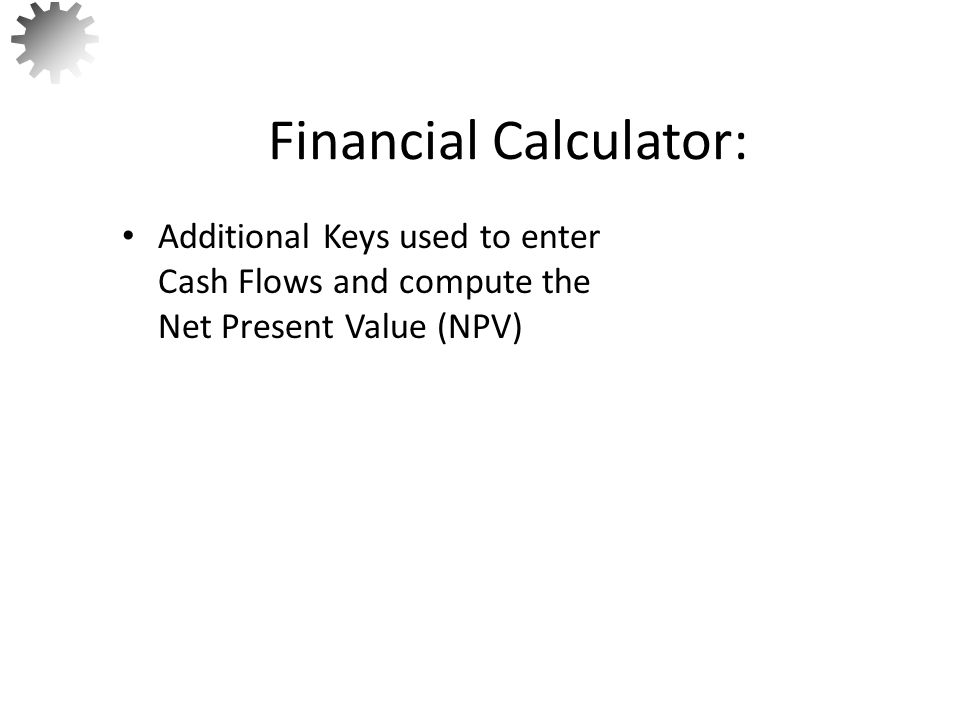 Financial Calculator: