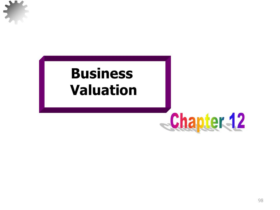 Business Valuation Chapter 12