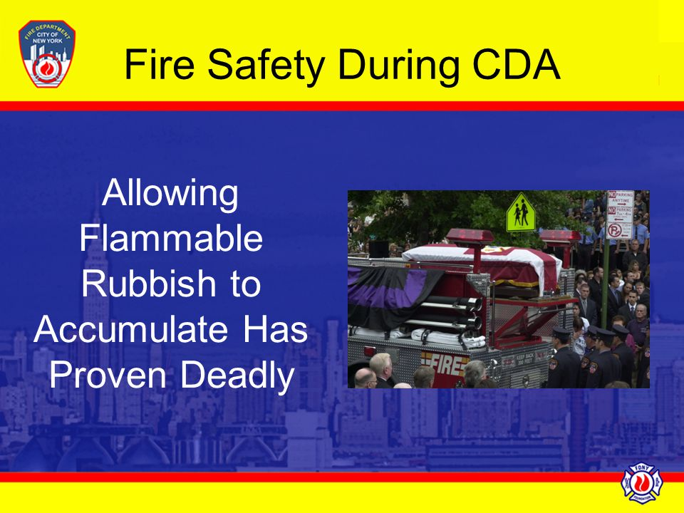 Allowing Flammable Rubbish to Accumulate Has Proven Deadly